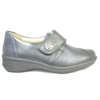 Solidus dames klittebandschoen uitneembaar voetbed 42003 K-wijdte