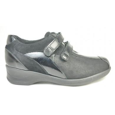 Xsensible dames klittebandschoen uitneembaar voetbed Lucia 10027.2 K-wijdte