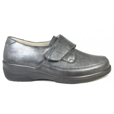 Solidus dames klittebandschoen uitneembaar voetbed 26530 K-wijdte